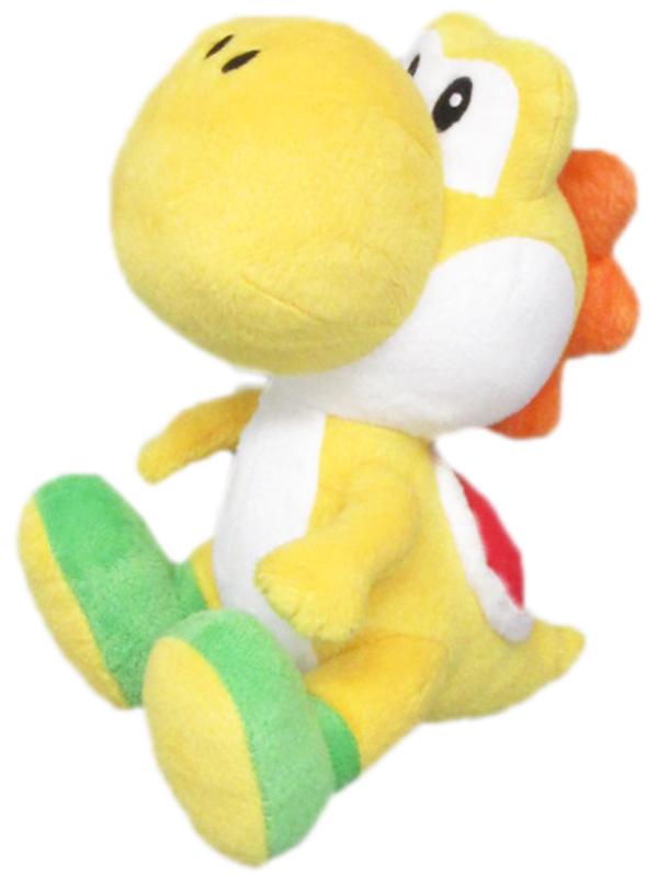 3700789292968_Yoshi_yellow_plush_17cm