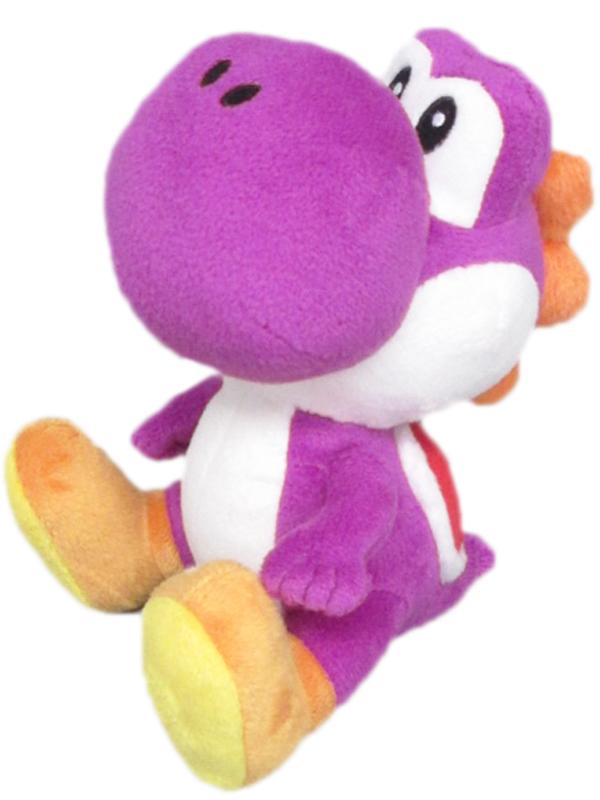 3700789292975_Yoshi_purple_plush_17cm