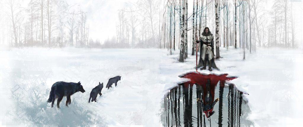 Valeria Brevigliero bozza copertina i cavalieri del nord