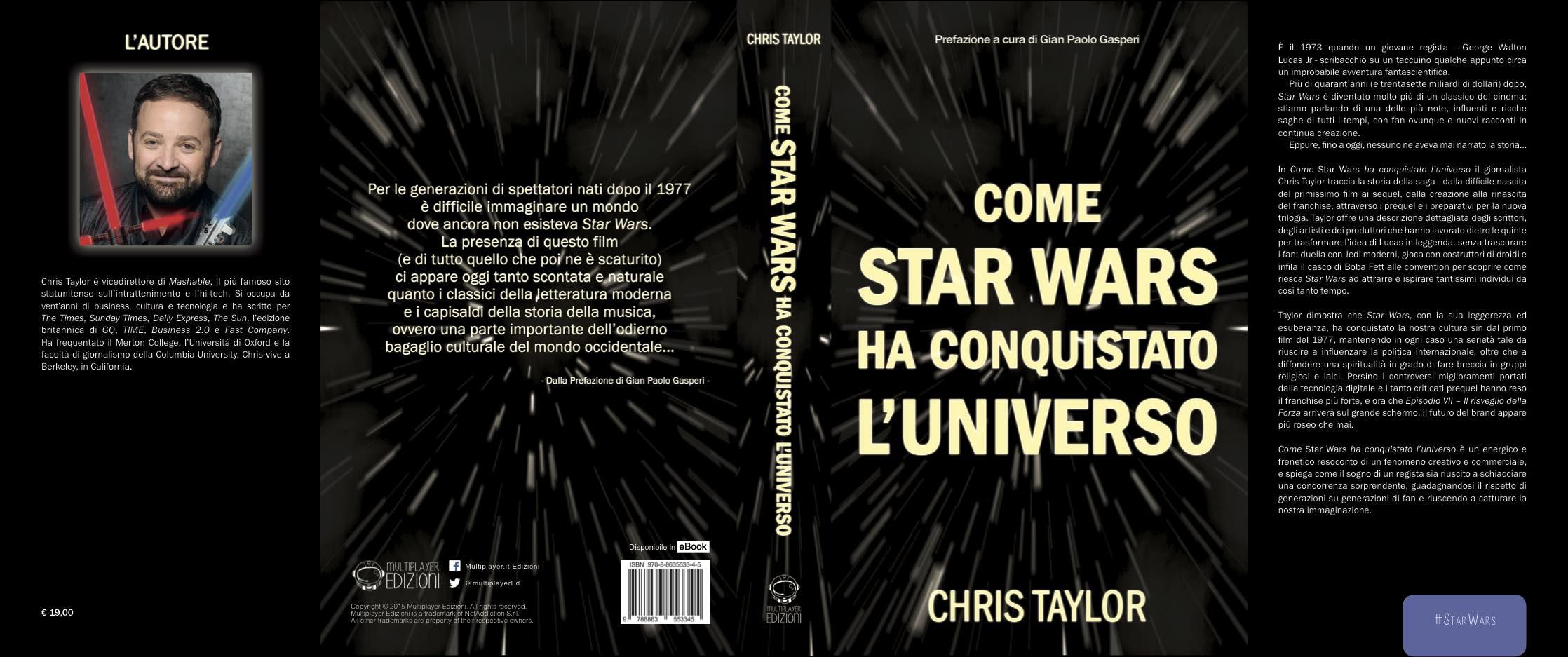 Come StarWars ha conquistato l'universo - Copertina