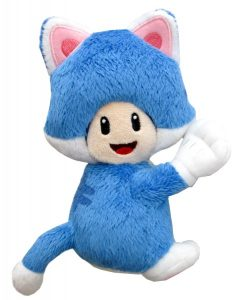 Cat Toad Plush Small magnetic hands