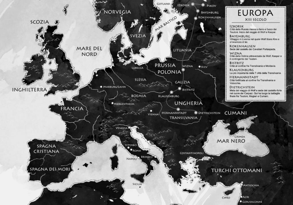 Mappa Cavalieri