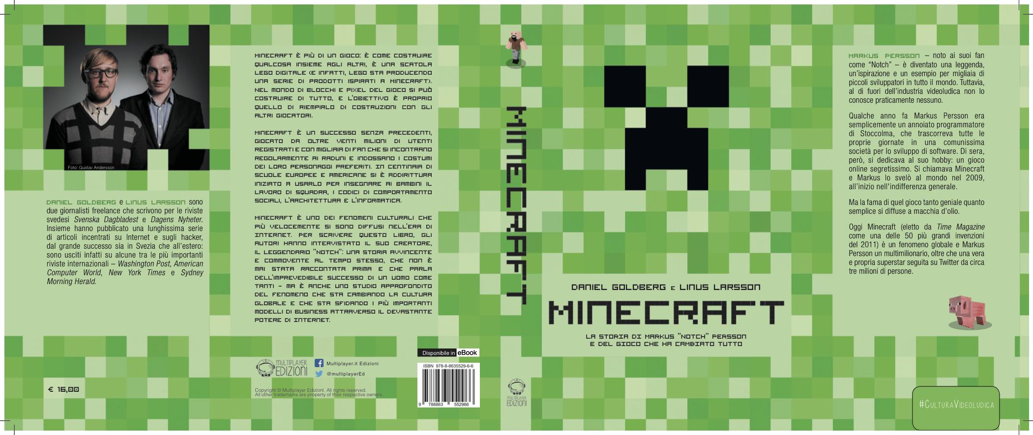 Minecraft-Copertina