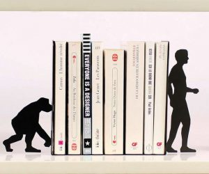 evolution-book-ends