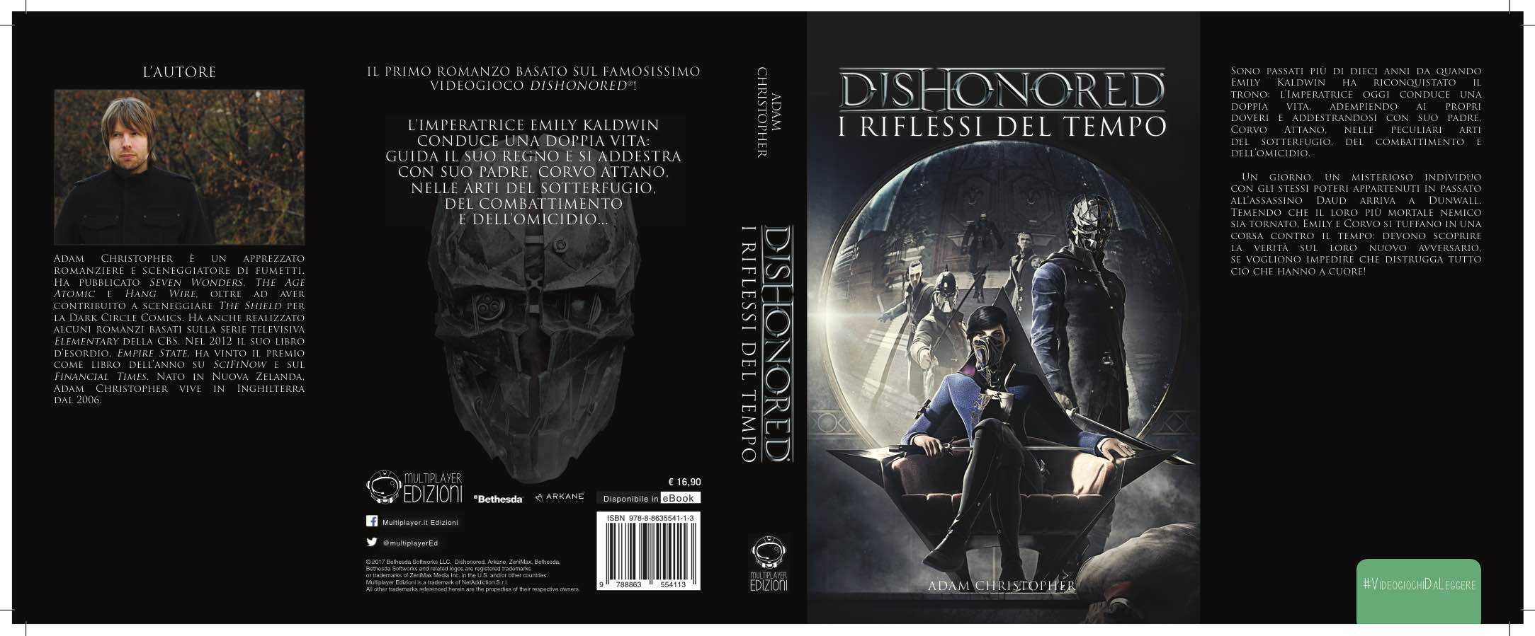 Dishonored-RiflessiDelTempo-Cover